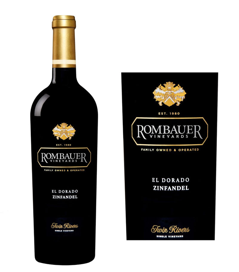 Rombauer El Dorado Twin Rivers Zinfandel 2018 (750 ml)