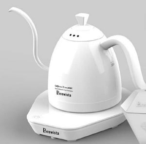 Brewista Artisan 600ml Gooseneck white Kettle-Stefanos signature limited edition
