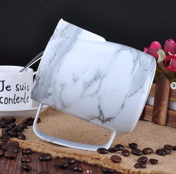 Marble milk pitcher size 350 ml