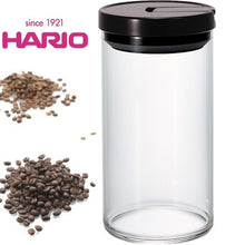 Load image into Gallery viewer, Hario Coffee Canister Black 300gm