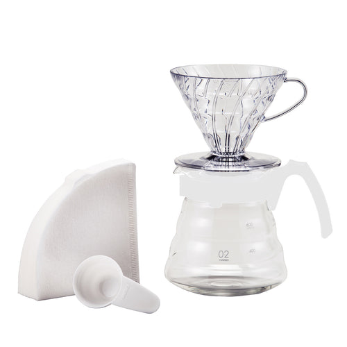 Hario V60 Craft Coffee Maker, White