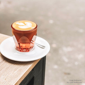 VERO 4.25OZ CORTADO GLASS, ROSE