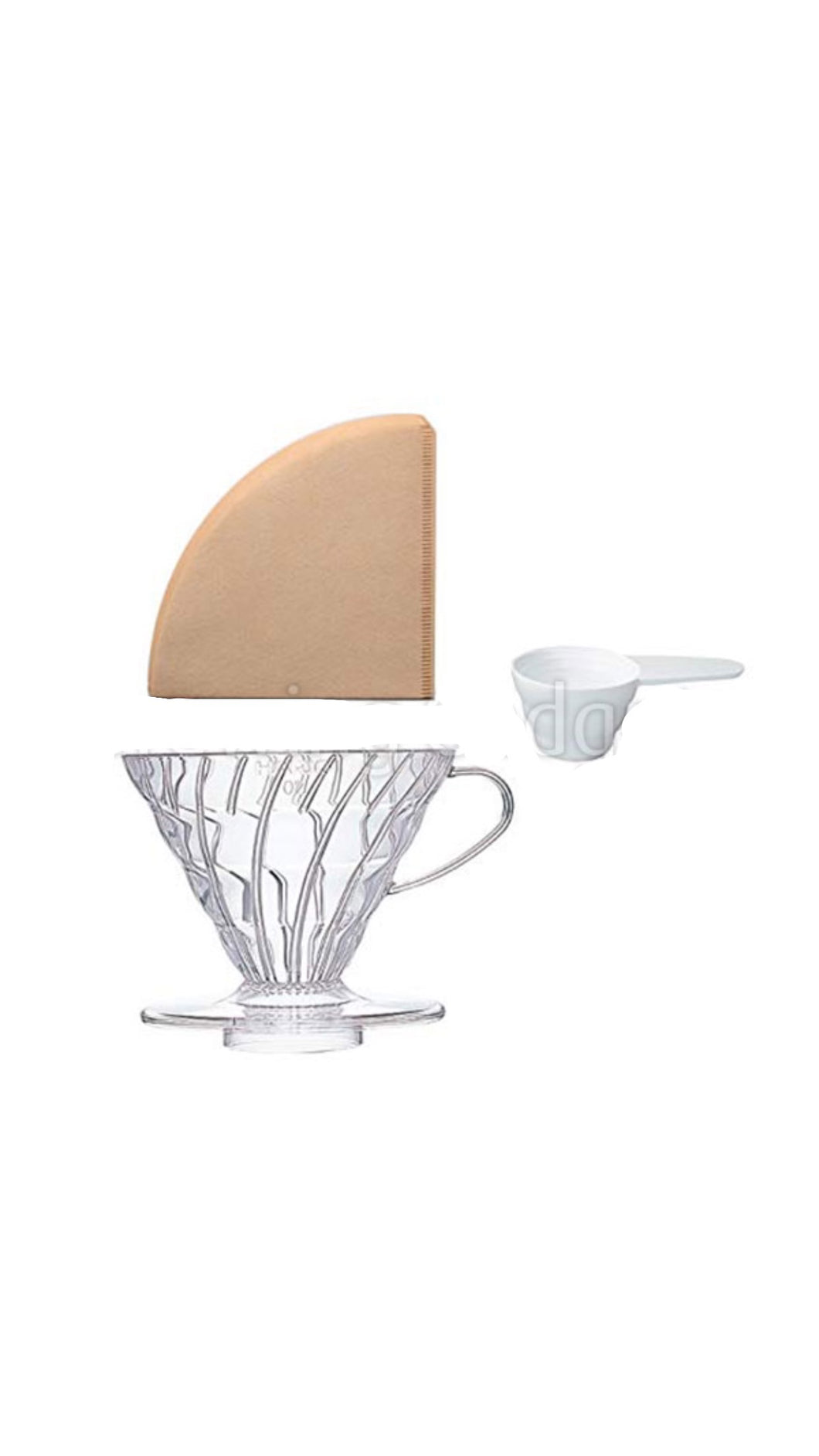 Hario V60 02 Coffee Dripper & Paper Filter 40 peace