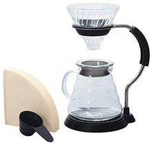 Load image into Gallery viewer, Hario V60 Arm Stand Glass Dripper Set