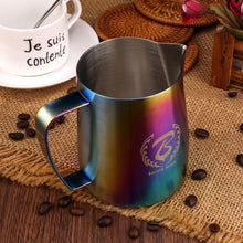Load image into Gallery viewer, BARISTASPACE 1.0 SANDY RAINBOW COFFEE MILK PITCHER