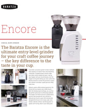 Load image into Gallery viewer, Baratza Encore coffee grinder
