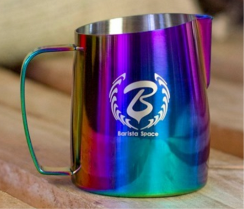 BARISTA SPACE 450 ML. RAINBOW MILK JUG  pitcher