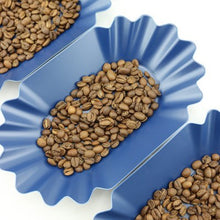 Load image into Gallery viewer, Rhino Coffee Gear Blue Oval Cupping Tray set of (6) pack