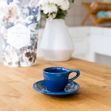 Load image into Gallery viewer, LINO Espresso cup and saucer Dark Blue