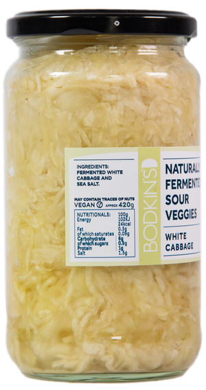 Naturally Fermented Sour Veggies: White Cabbage