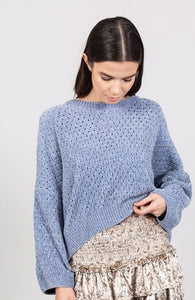 Faux Chenille Pull over Sweater