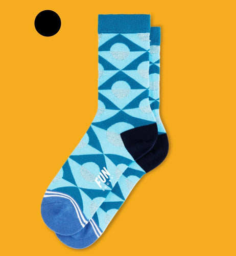 BLUE SHAPES SOCKS