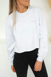 Evelyn Crop Sweatshirt