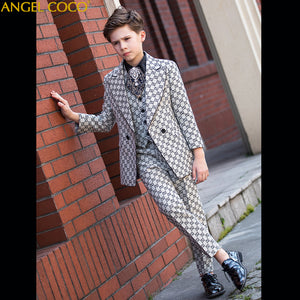 Suit for Boy Terno Infantil Boys Suits for Weddings Costume Enfant Garcon Mariage Disfraz Infantil Boy Suits Formal 2019