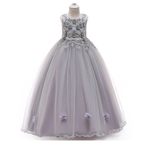 Girls Dresses Princess Dress for girl  Dance Formal dress Birthday Party Wedding Wears Children Stage Fantasy Christmas Clothes