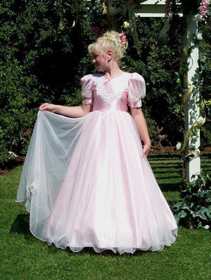 Vintage A-Line Girls Clothes Kids Party Prom Gown with Bow Satin Tulle Flower Girl Dress for Wedding Pageant Gown Size 2-16Y