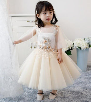 White Tulle Sequin Baby Girl Dress Birthday Party Kids Dress Newborn Infant Christening Baptism Gown Baby First Communion Gown
