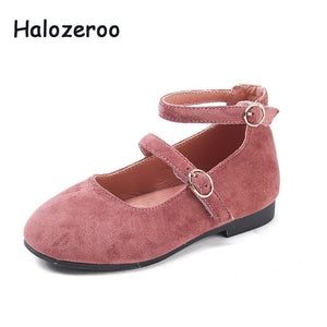 2019 Autumn New Baby Girls Princess Shoes Children Sweet Flats Kids Pink Brand School Shoes Party Shoes Fashion Soft Mary Jane