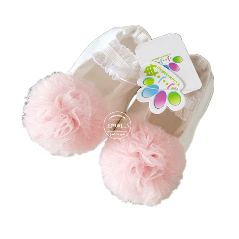 BBWOWLIN Newborn First Walkers Baby Girl Shoes for 1 Year Birthday Party Weding First Communion Dresses  Sapatos Infantil 125
