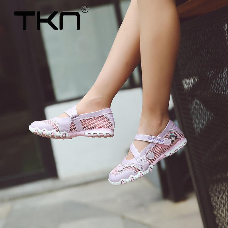 2019 TKN New Summer Girls Sandals Princess Sandals Non-slip Sole  Beach Shoes High Quality Kids Garden Children Sandals Shoes