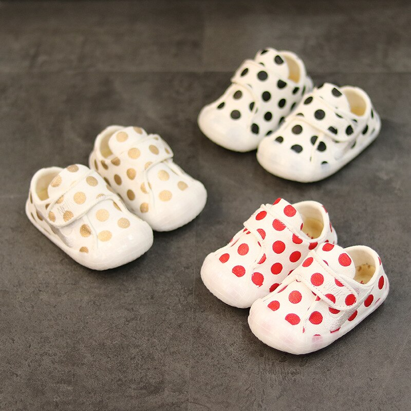 Spring And Autumn Baby Boys Shoes Baby Girls First Walkers Soft Soles First Walkers Breathable Kids Shoes Toddler First Walkers