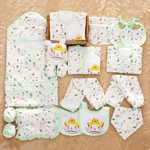 Newborn Baby Clothing Set Gift Winter Underwear Suit Infant 100% Cotton Clothing Set Boys & Girls Winter Clothes