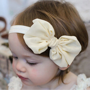 14Pcs Multi-colors Chiffon Bowknot Hair Band Headband Accessories Kids Baby Girl Toddler Gift