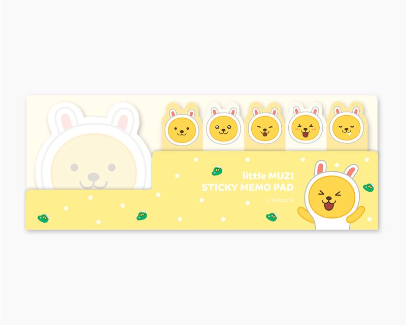 Kakao Little Friends Flag Sticky Notes