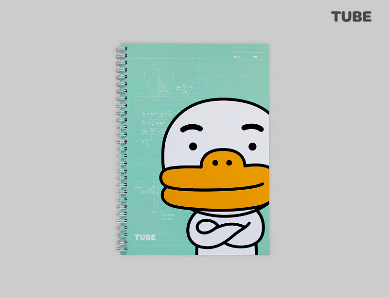 Kakao Half Note Notebook