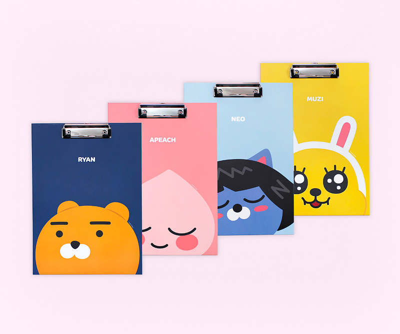 Kakao Friends Clipboard