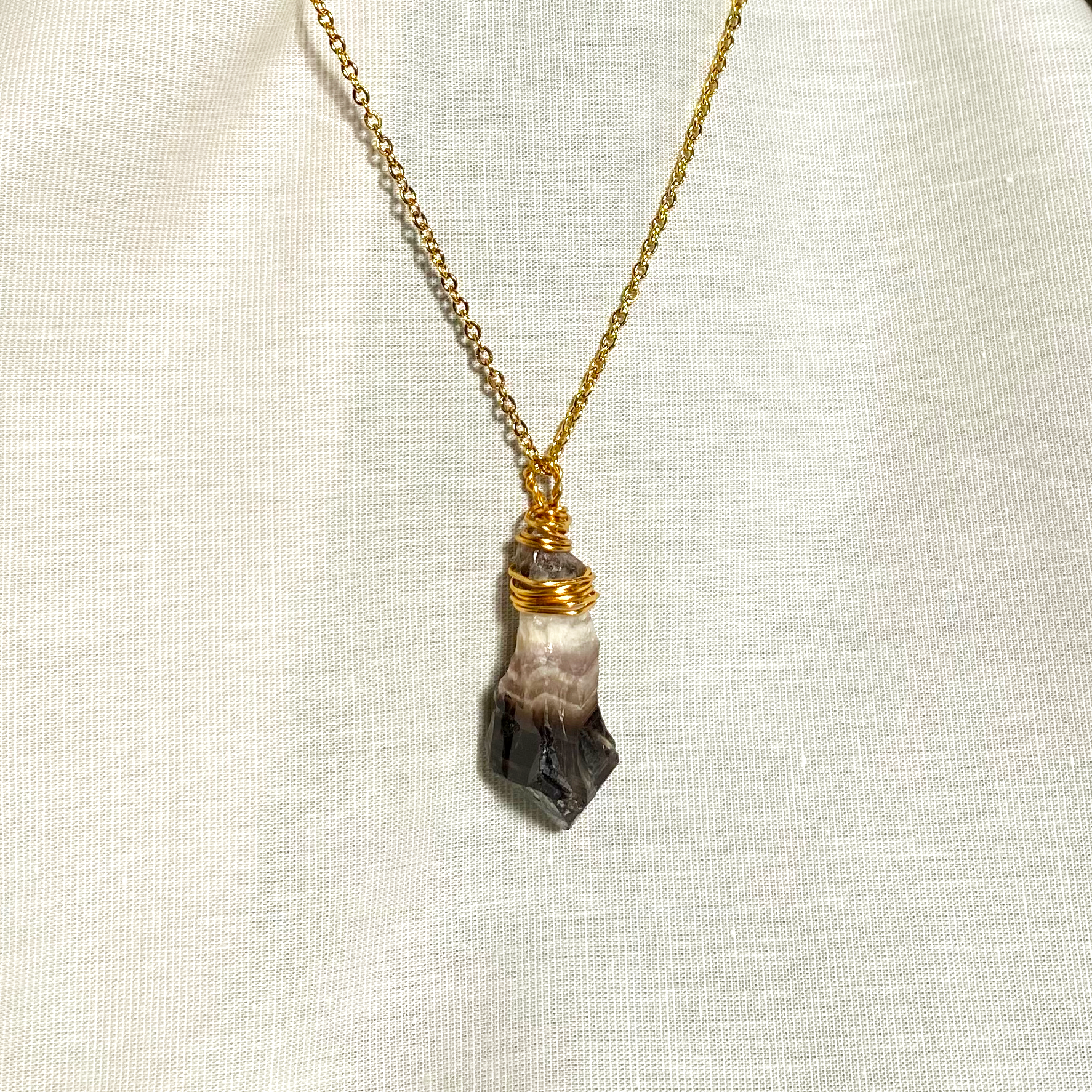Black Amethyst Necklace