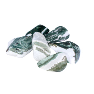 Green Zebra Lace Agate