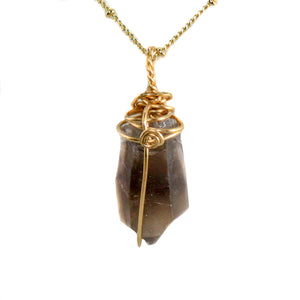 Smoky Quartz Gold