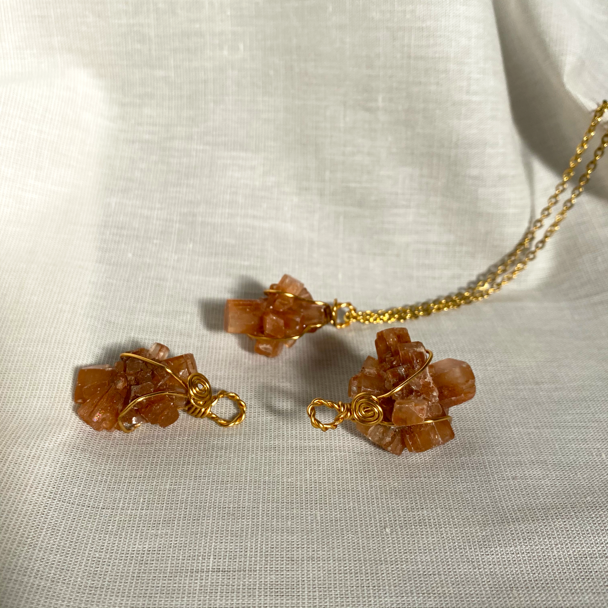 Aragonite Necklace