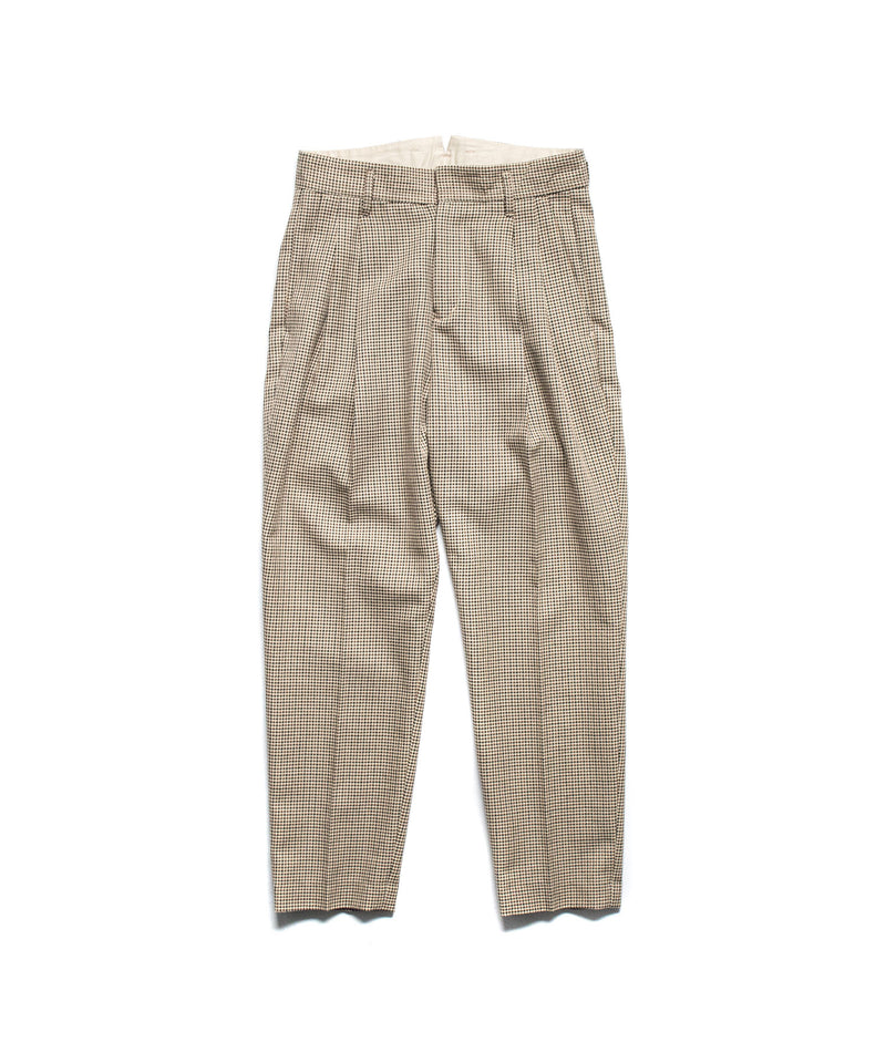 stein / TWO TUCK WIDE TROUSERS