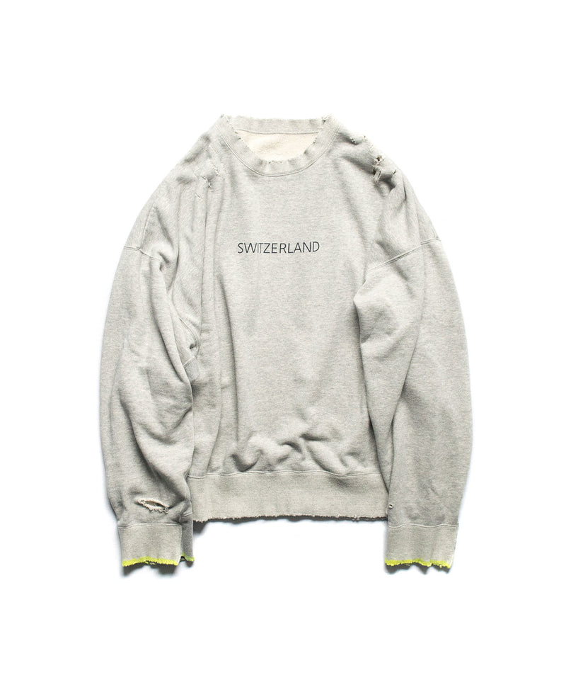 stein / OVERSIZED REBUILD SWEAT LS