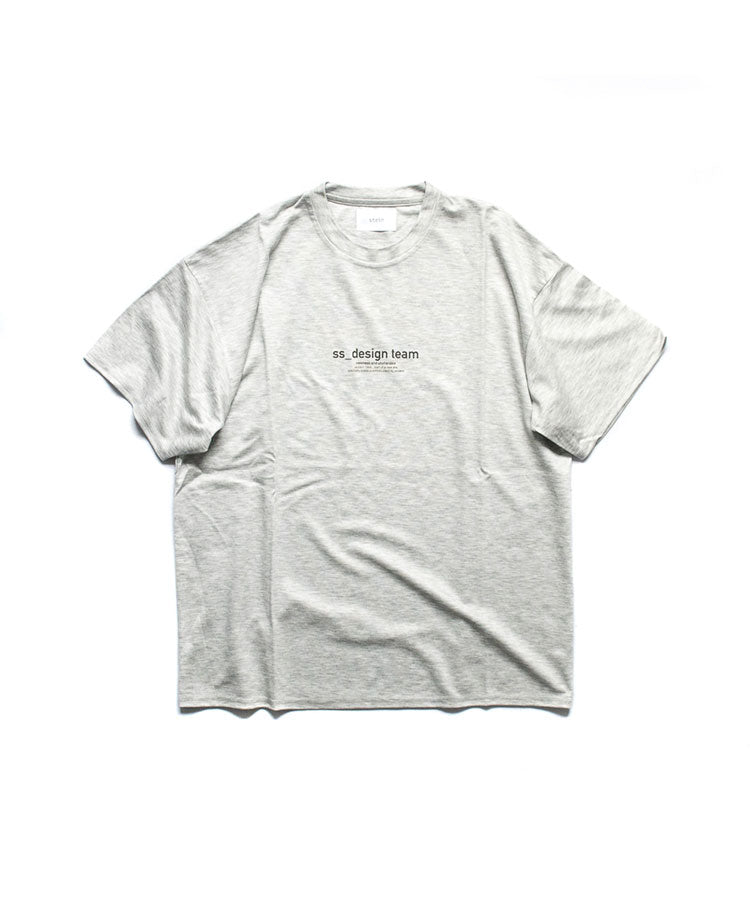stein / PRINT TEE   - ss_design team -