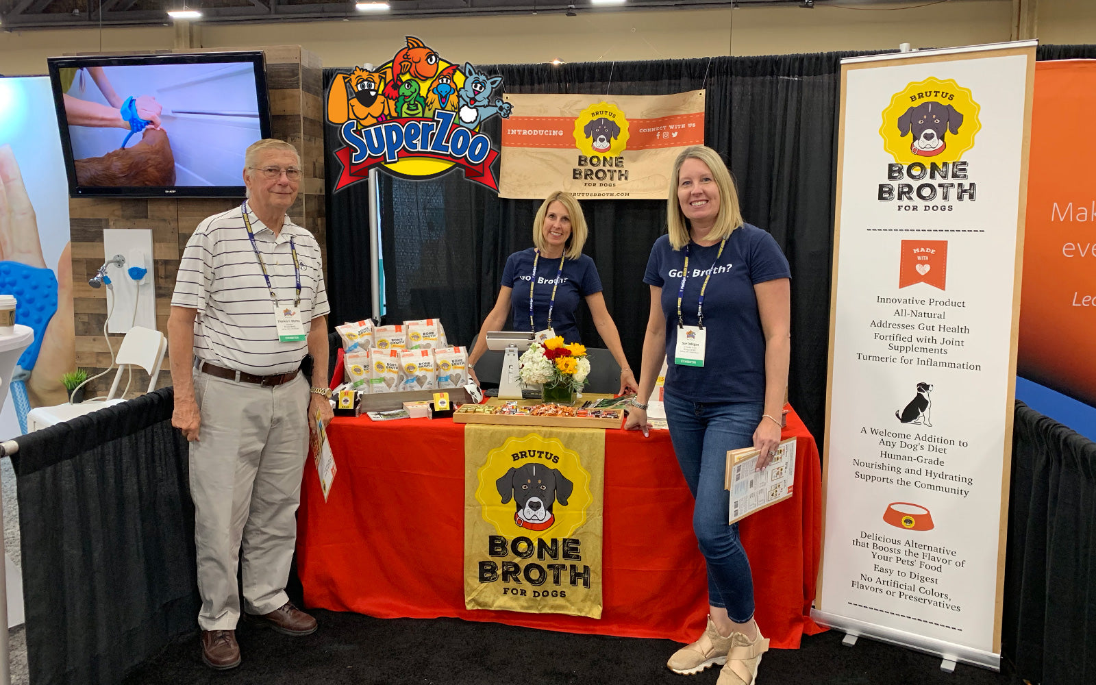 Brutus Biscuit Product Line Launches at SuperZoo
