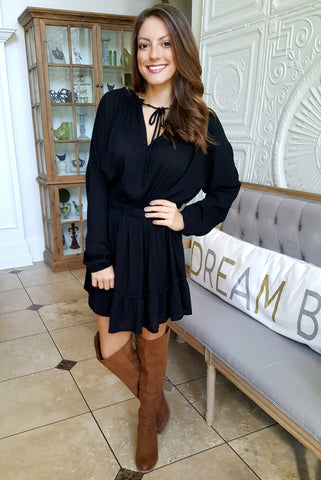 Black Magic Dress In Black