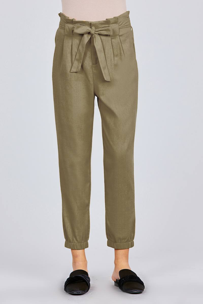 I'm A Catch Pants in Olive