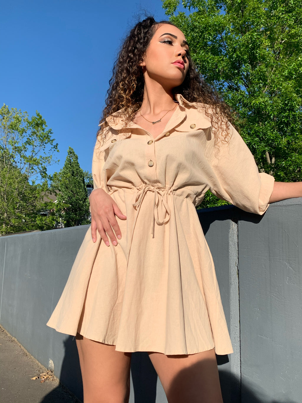 Melody Long Sleeve Dress