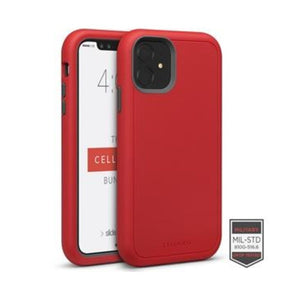 Funda para iPhone - Rapture Red/Dark Gray Matte