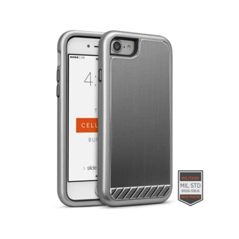 Funda para iPhone - Rapture Brushed Metal Gunmetal
