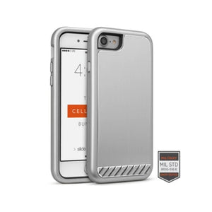 Funda para iPhone - Rapture Brushed Metal Silver