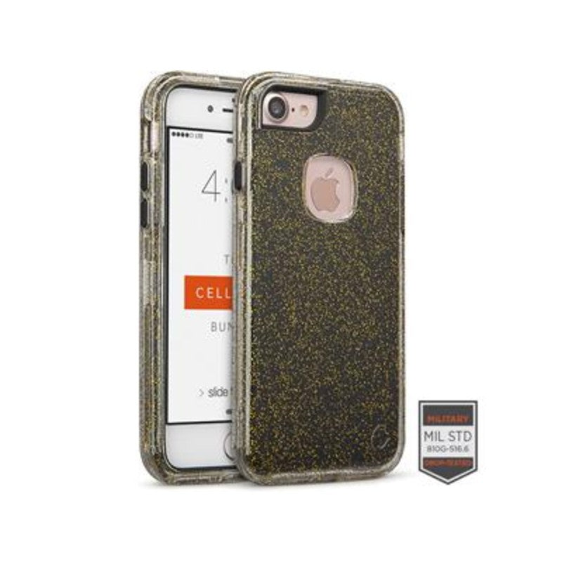 Funda para iPhone - Rapture Clear SL Glitter Black