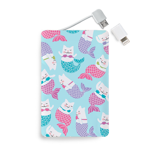 Batería Portátil - Mermaid Cat - Unique Cases