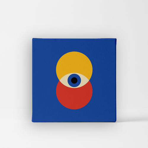 Unique Canvas - Blue Eye