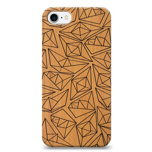Funda Unique Cases de Madera para celular - Ship