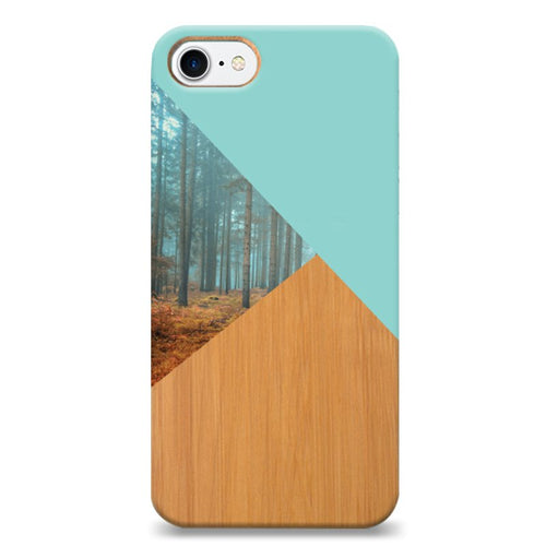 Funda Unique Cases de Madera para celular - Magic Forest