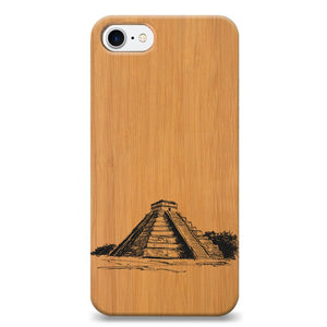 Funda Unique Cases de Madera para celular - Maya